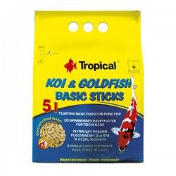 Tropical Koi ve Goldfish Basic Sticks 1000ml 90gr
