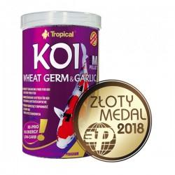 Tropical Koi Wheat Germ ve Garlic Pellet Size M 1000ml 320gr