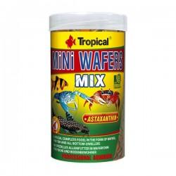 Tropical Mini Wafers Mix 90gr - Vatoz ve Çöpçü Balığı Yemi