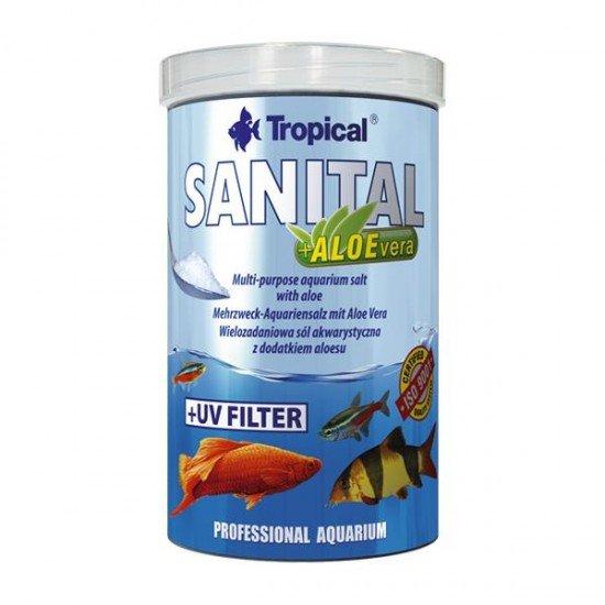 Tropical Sanital +Alovera 1000ml 1,2Kg Akvaryum Tuzu