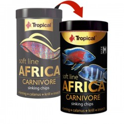 Tropical Soft Line Africa Carnivore Size M 250ml 130gr