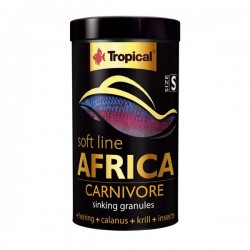 Tropical Soft Line Africa Carnivore Size S 100ml 60gr