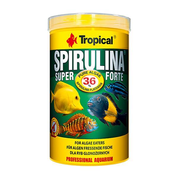 Tropical Super Spirulina Forte Pul Yem 100gr Kovadan Bölme Balık