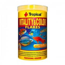 Tropical Vitality Color Flakes 100gr Kovadan Bölme
