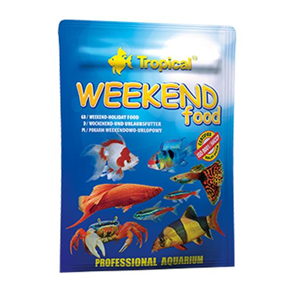 Tropical Weekend Food 20gr Balık