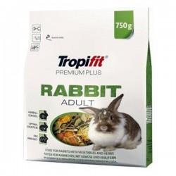 Tropifit Premium Plus Yetişkin Tavşan Yemi 750gr