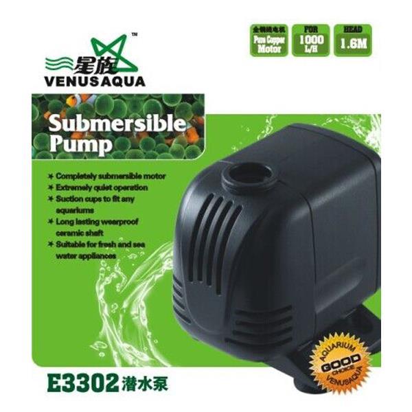 Venusaqua E3302 Kafa Motoru 1000 L/S 18W
