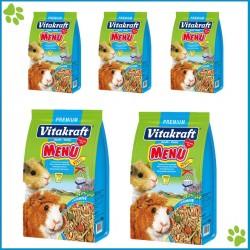 Vitakraft Menu Guinea Pig Yemi Avantajlı Paket 1000gr x 5 Adet