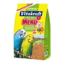 Vitakraft Menu Vital Muhabbet Kuşu Yemi Ballı 1000gr