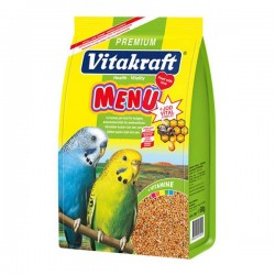 Vitakraft Menu Vital Muhabbet Kuşu Yemi Ballı 500gr