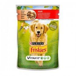 Friskies Sığır Etli ve Patatesli Yetişkin Köpek Konservesi 100gr