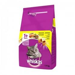 Whiskas Tavuklu ve Sebzeli Kedi Maması 1,4Kg