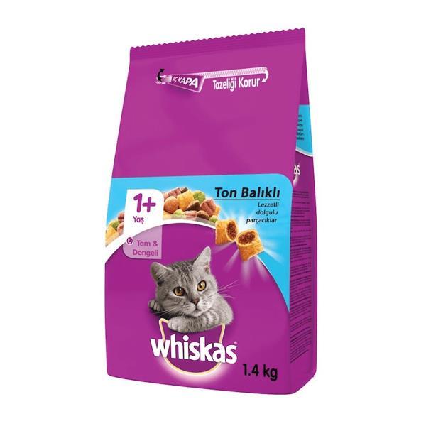 Whiskas Ton Balıklı ve Sebzeli Kedi Maması 1,4 Kg