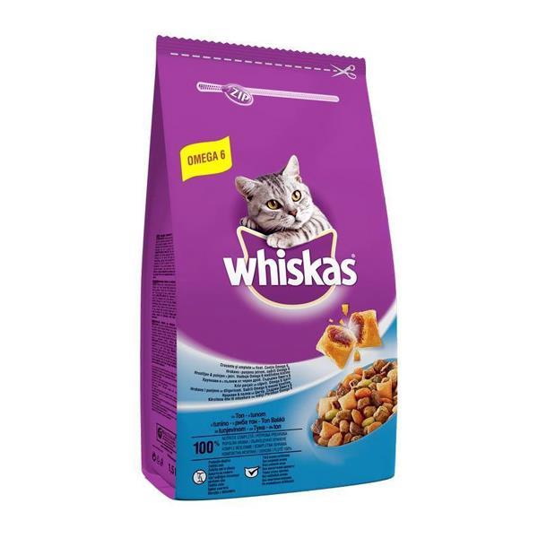 Whiskas Ton Balıklı ve Sebzeli Kedi Maması 3,8Kg