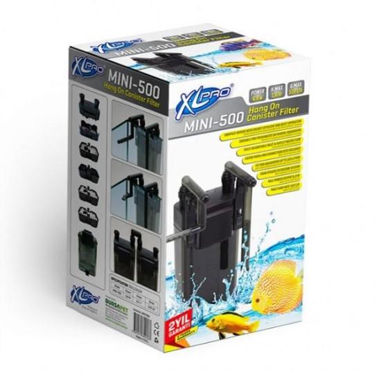 XLPRO 500 Mini Dış Filtre 510L/S