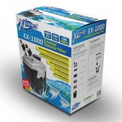 XLPRO EX-1000 Dış Filtre 1000L/H Dolu