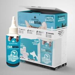 Zoo Vital Ear Vital Pamuk Hediyeli Kulak Temizleme Solüsyonu 150 ml