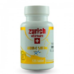 Zurich Ascor-C Köpek Vitamini 125 Tablet