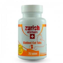 Zurich Kediler İçin Biotin Tüy Döküm Önleyici Tablet 75 Adet