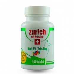 Zurich Multivitamin Köpek Tableti 100 Tablet