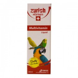 Zurich Multivitamin Kuş Multi Vitamini 30ml
