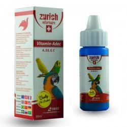 Zurich Vitamin A D E C Kuş Vitamini 30ml